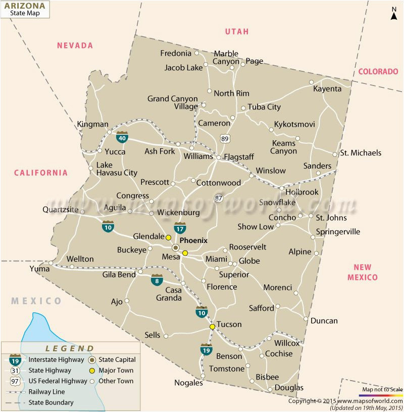 A Map Of Arizona State Pin by United Nations the Holy See On Arizona Pinterest Arizona
