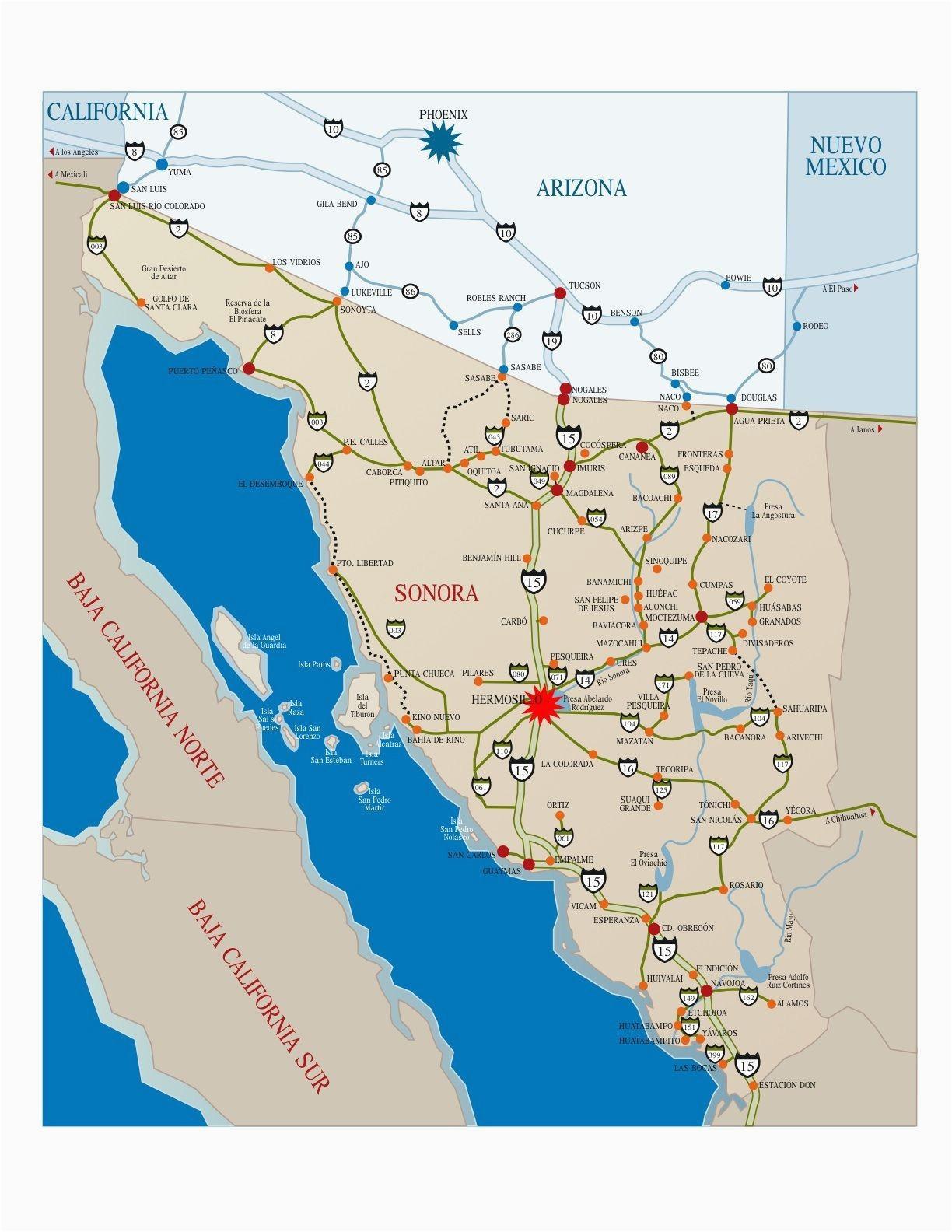 Baja California norte Map United States Map Baja California New Map Baja California Mexico
