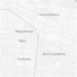 Bell Gardens California Map Bell California Ca Profile Population Maps Real Estate