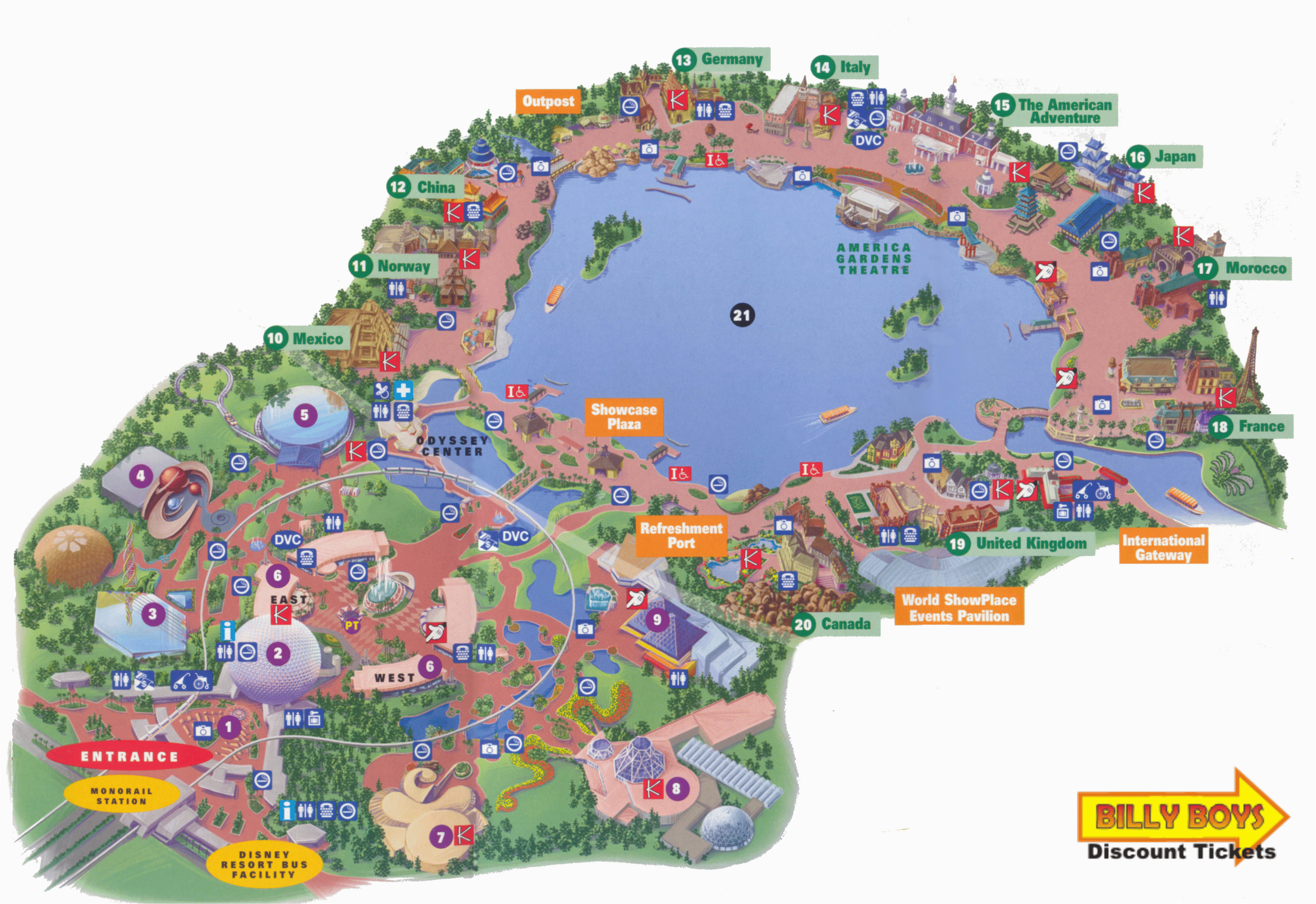 California Adventure Rides Map Printable Map Disneyland and California Adventure Free Printable