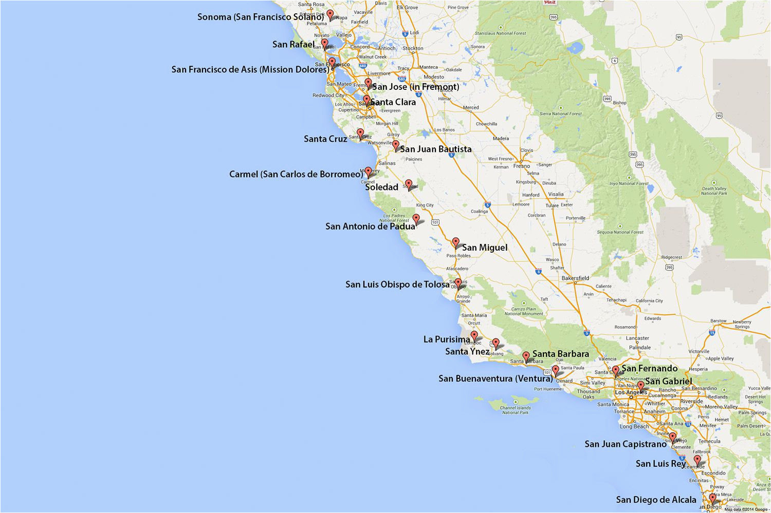 California Power Grid Map Maps Of California Created for Visitors and Travelers