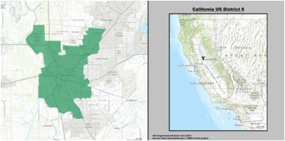 California Voting Map California S 6th Congressional District Wikipedia