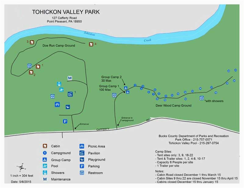 Colorado Camping Map tohickon