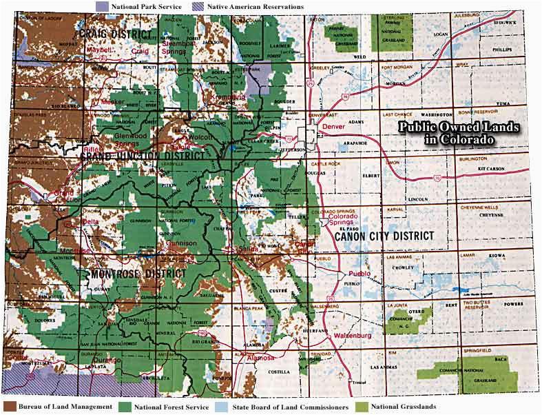 Colorado Public Hunting Land Map Colorado Blm Map Best Of 69 Fresh Colorado Blm Land Maps Maps