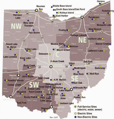 Corning Ohio Map List Of Ohio State Parks with Campgrounds Dreaming Of A Pink