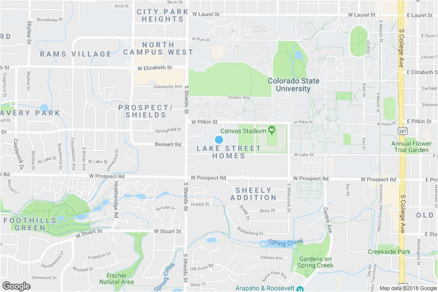 Ft Collins Colorado Map fort Collins Co Map New Rams Crossing Campus fort Collins Co Maps