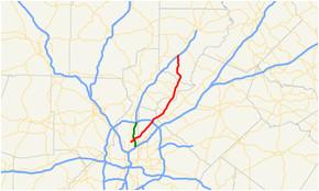 Gainesville Georgia Map Georgia State Route 141 Wikipedia