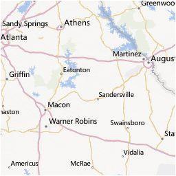 Georgia Power Map Outage Map Georgia Power A Georgia atlanta A Pinterest