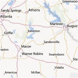 Georgia Power Service area Map Outage Map Georgia Power A Georgia atlanta A Pinterest