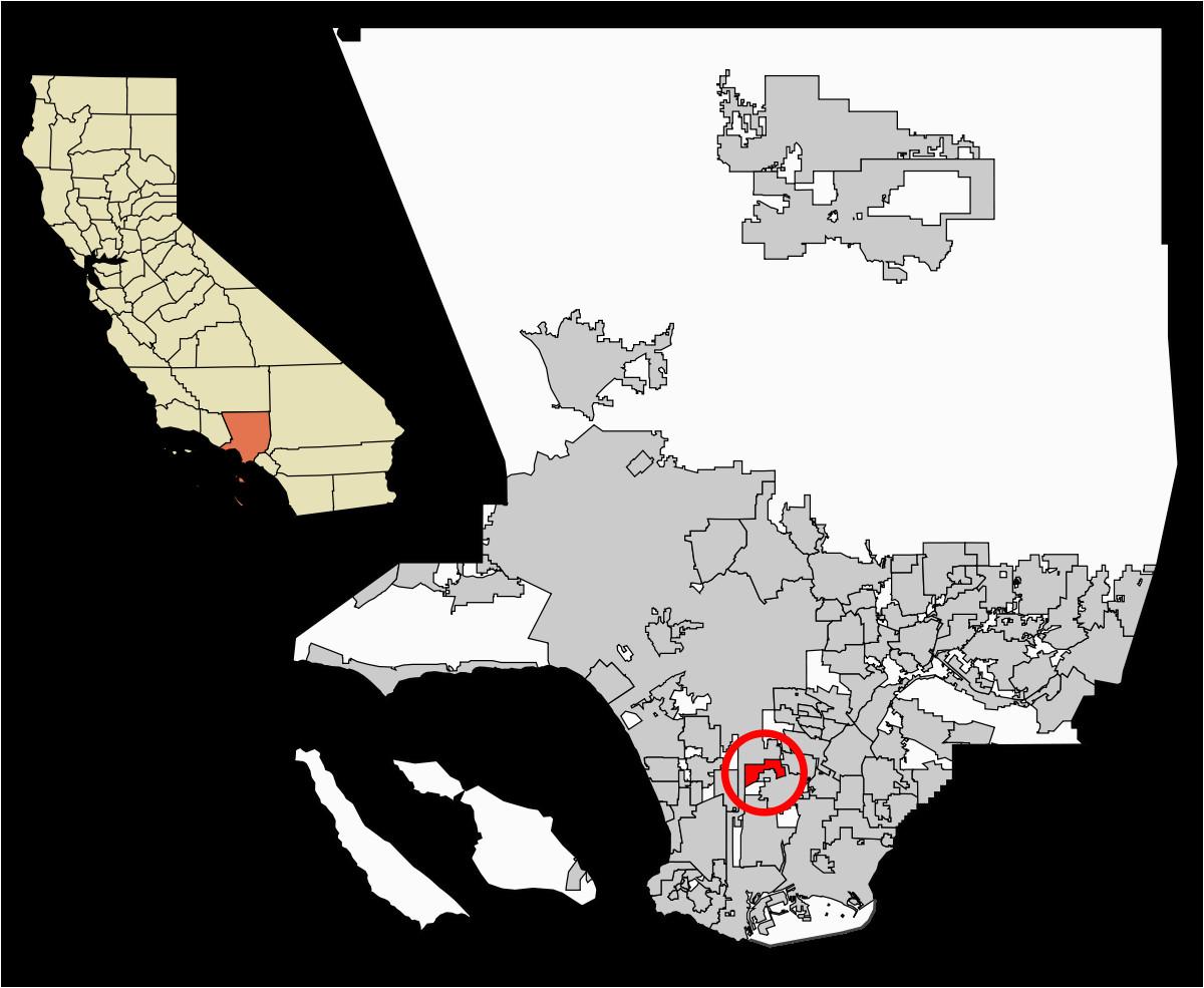 Llano California Map Willowbrook California Wikipedia
