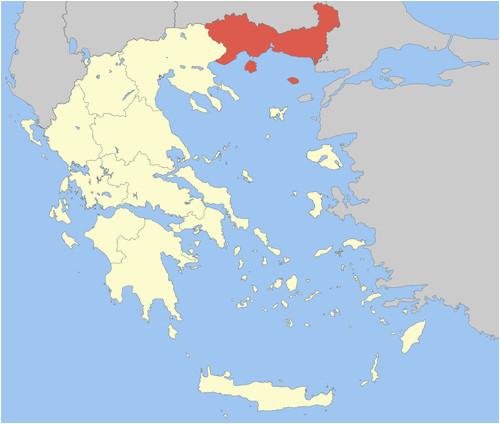 Macedonia Ohio Map Eastern Macedonia and Thrace Wikiwand
