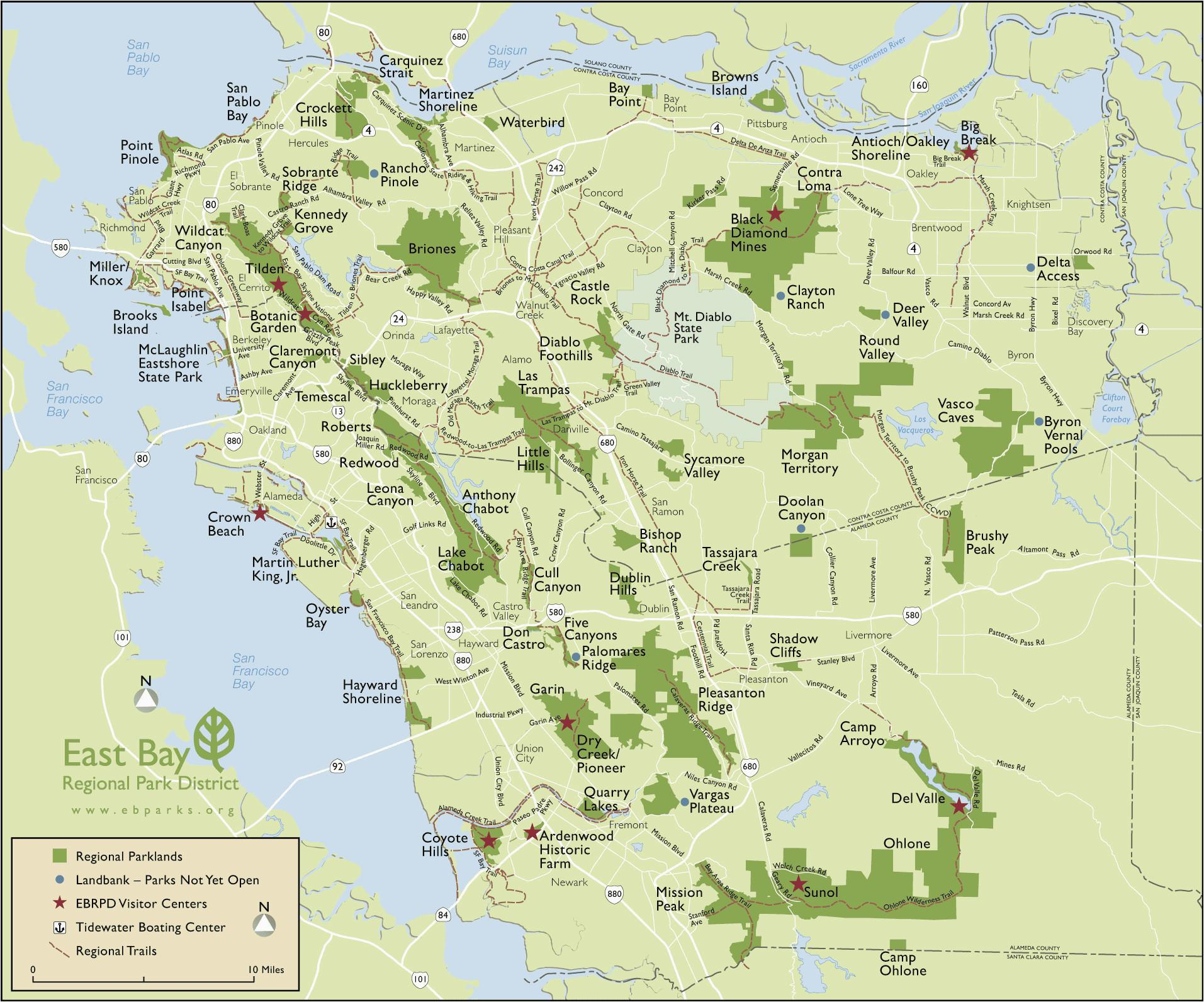 Map Of Alameda County California Map San Francisco Bay area California Outline Map Od California
