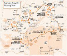 Map Of Arizona and Utah 349 Best Utah National Parks Mesa Verde Monument Valley Grand