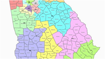 Map Of Clayton County Georgia Map Georgia S Congressional Districts