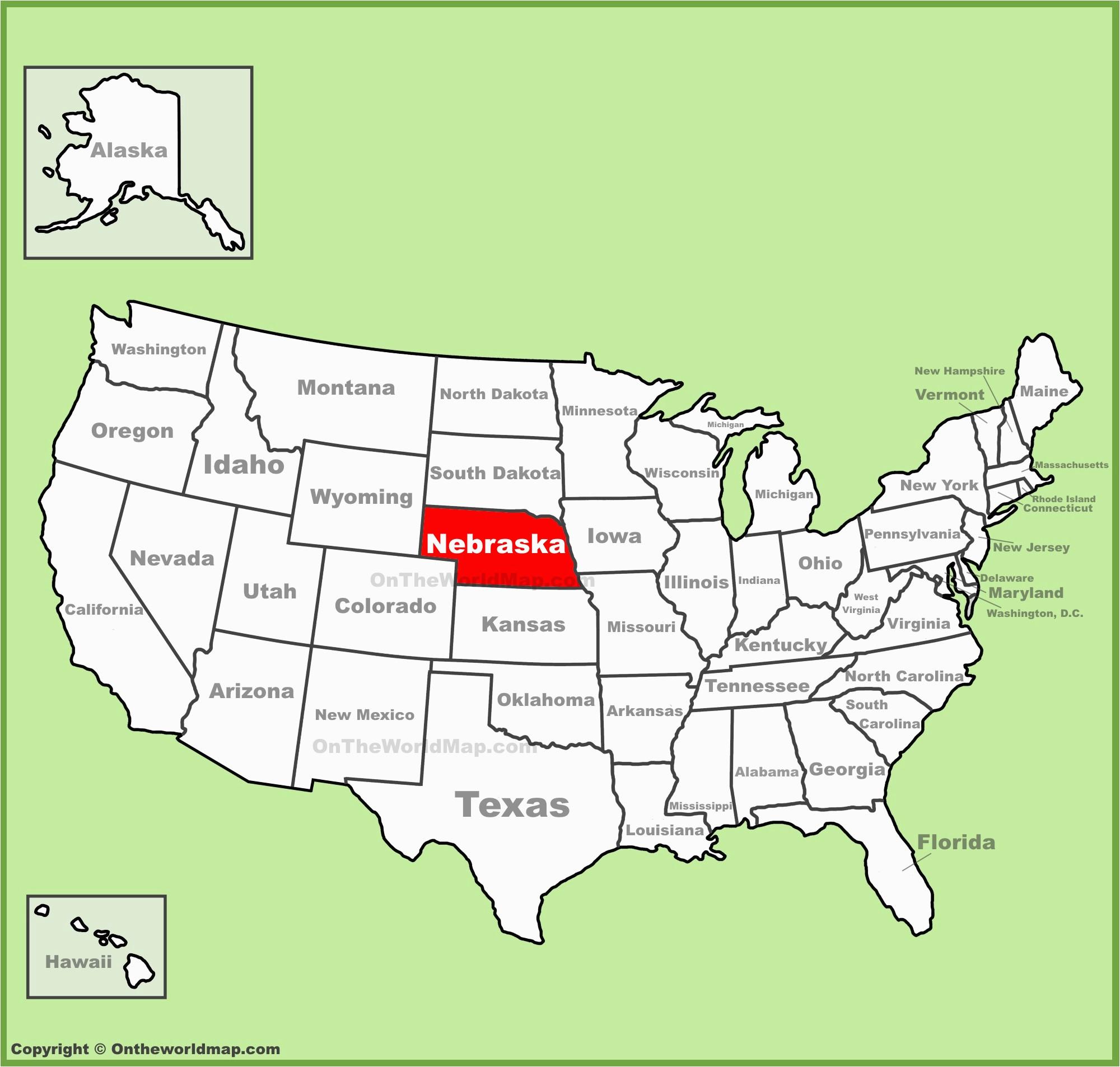 Map Of Colorado and Nebraska Nebraska State Maps Usa Maps Of Nebraska Ne