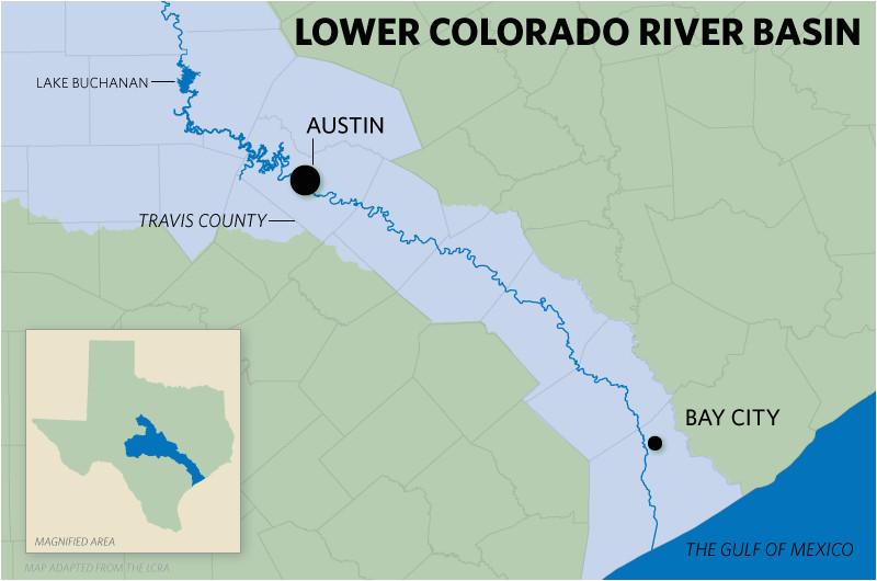 Map Of Colorado River System Texas Colorado River Map Business Ideas 2013