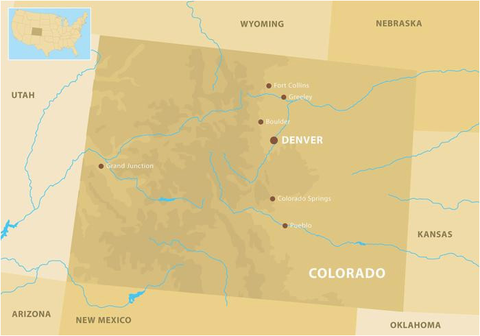 Map Of Eagle Colorado Colorado Mountains Map Download Free Vector Art Stock Graphics