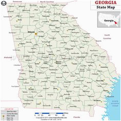 Map Of Georgia towns 21 Best State Map Usa Images State Map Georgia Usa Us State Map