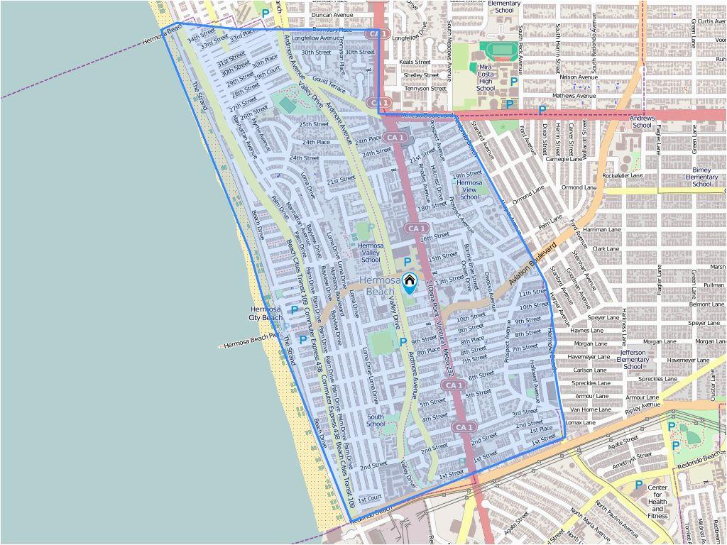 Map Of Hermosa Beach California 703 Pier Ave Hermosa Beach Ca Biggs Lawrence R Cynan Group Llc