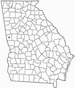 Map Of Lagrange Georgia Lagrange Georgia Map