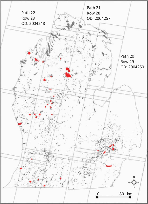 Map Of Lakes In Michigan Map Of Lakes 4 Ha Across the Lower Peninsula Of Michigan 43 30