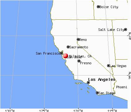 Map Of Milpitas California Santa Clara California Map Lovely Milpitas California Ca Profile