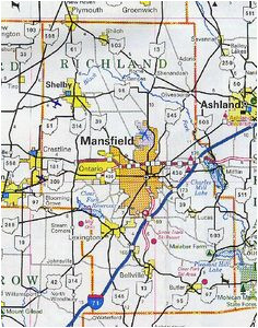 Map Of Richland County Ohio Richland County Ohio Map New Banyan Tree I Think This One Was at
