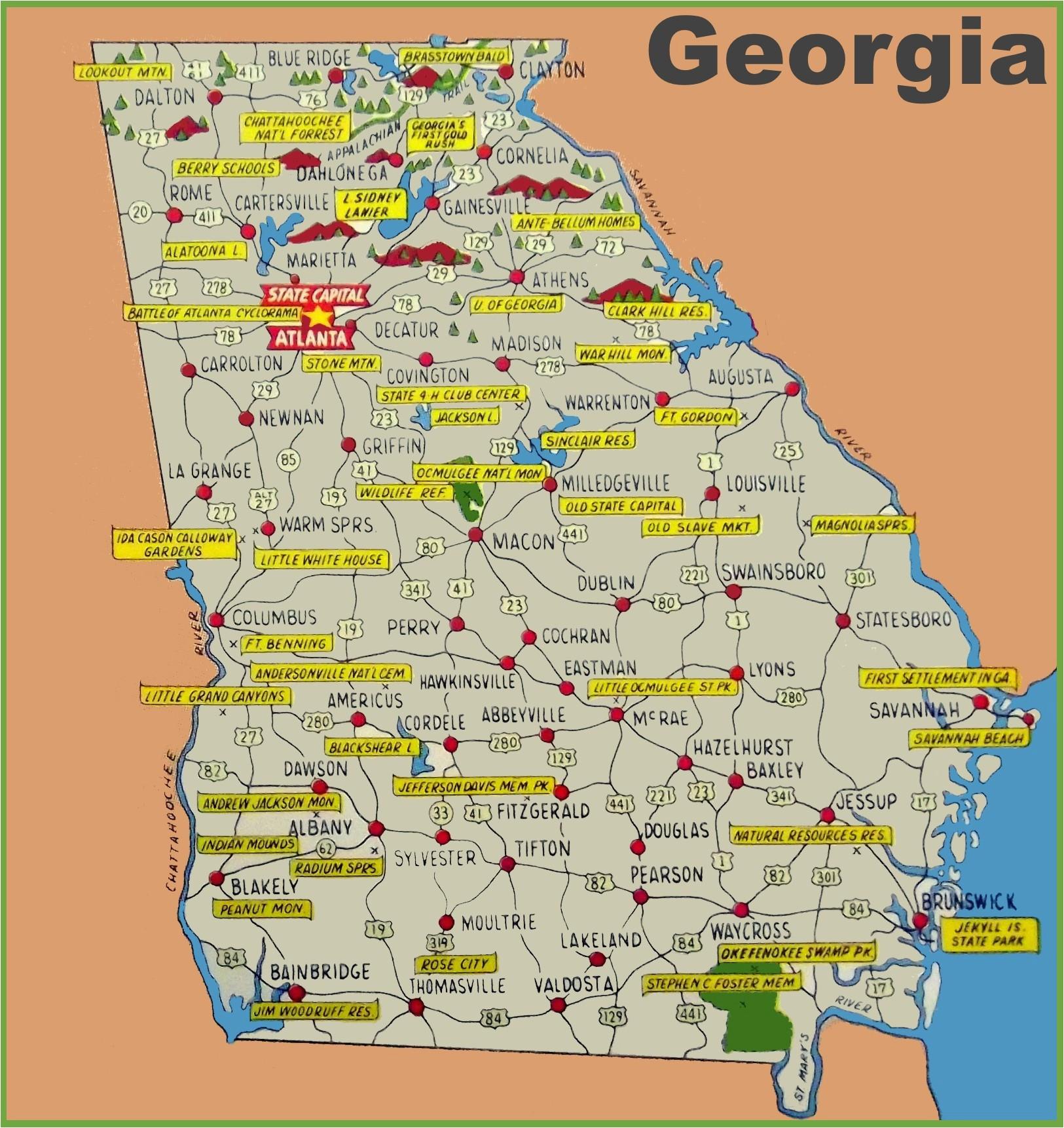 Map Of south Georgia island New south Georgia Map Usa Superdupergames Co