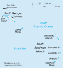 Map Of south Georgia island south Georgia and the south Sandwich islands Wikipedia