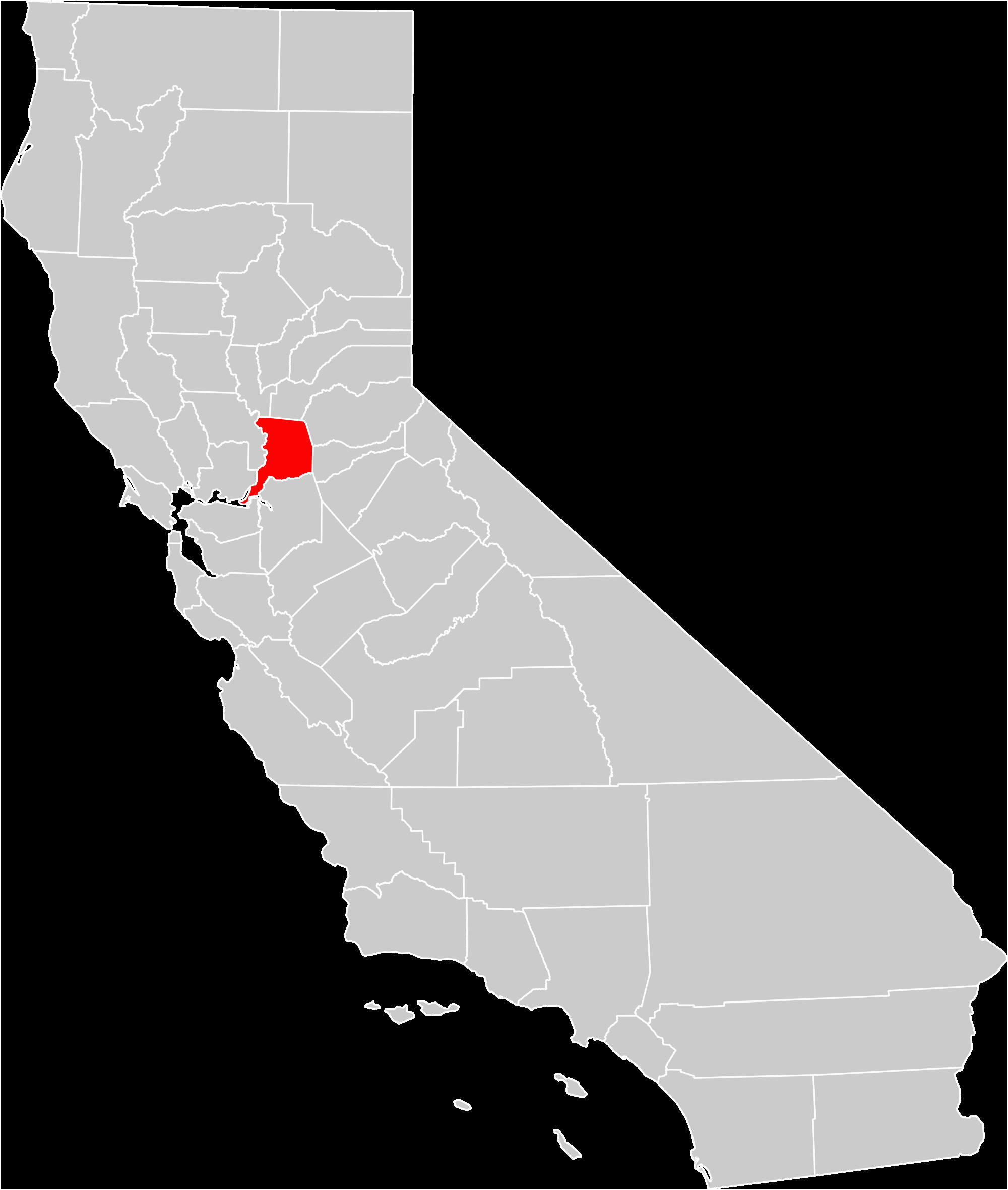 Map Of Westminster California File California County Map Sacramento County Highlighted Svg