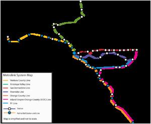 Metrolink California Map Metrolink California Revolvy