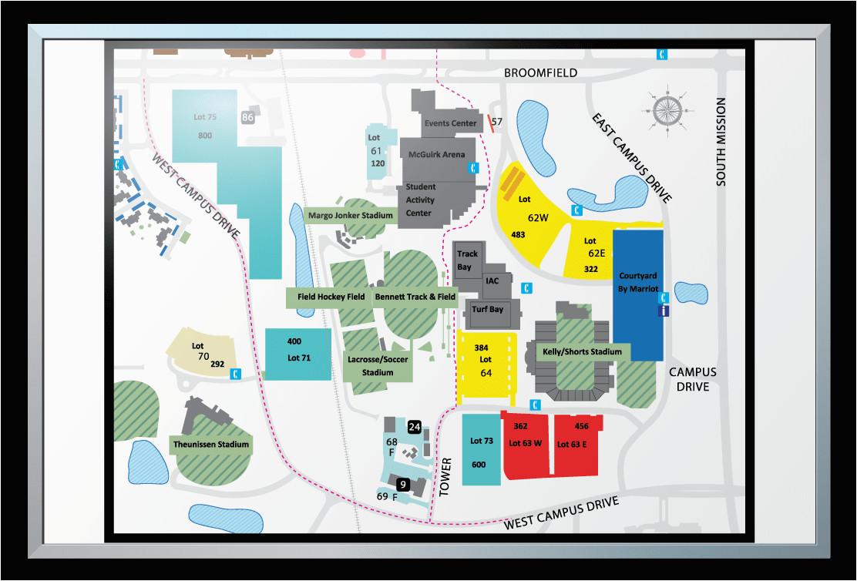 Michigan College Map Central Michigan University Campus Map Compressportnederland