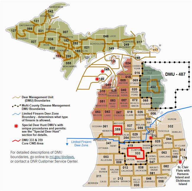Michigan Dnr Trail Maps Dnr Dmu Management Info