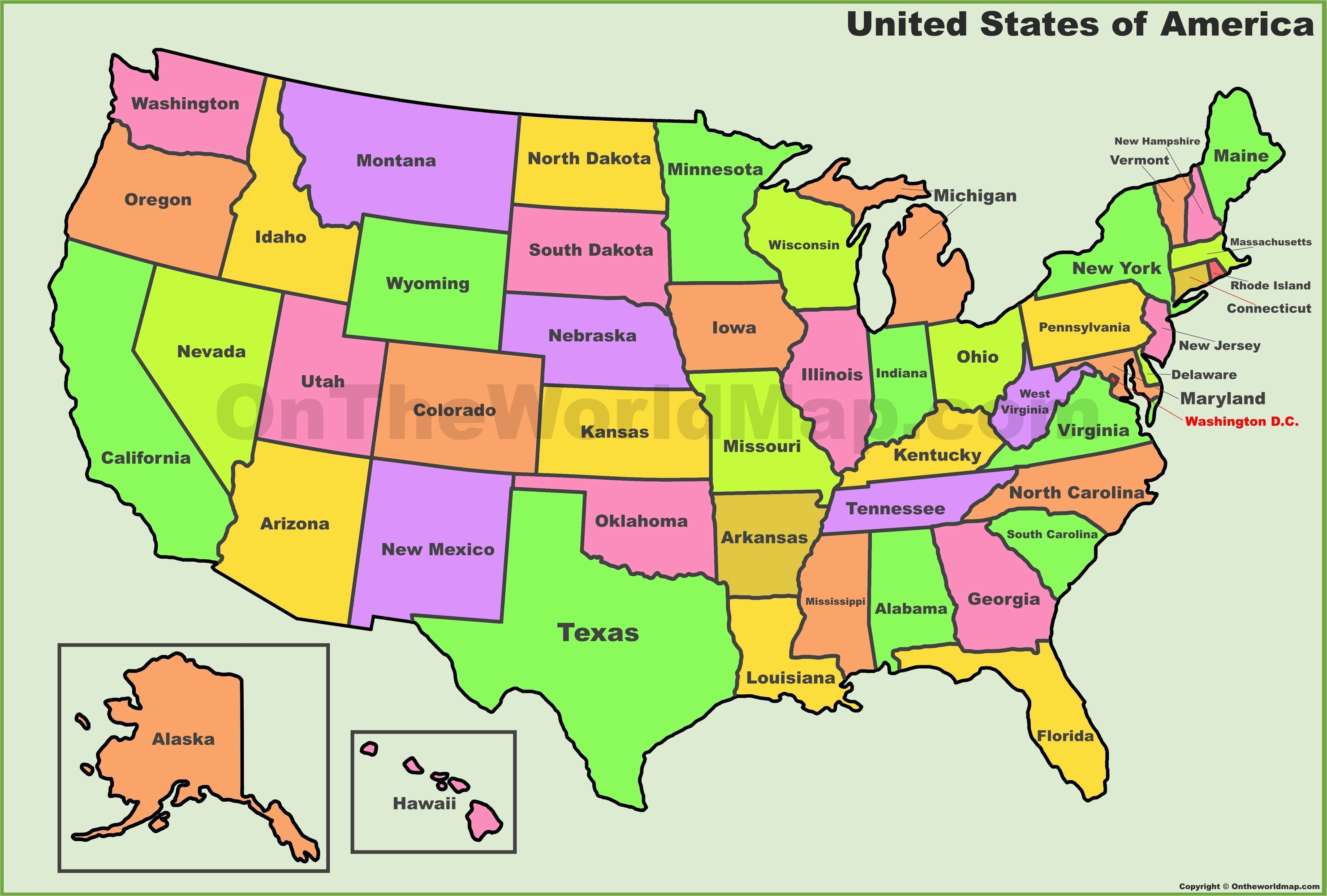 Outline Map Of Arizona United States Map Outline with State Names New Map Od Us Blank Map
