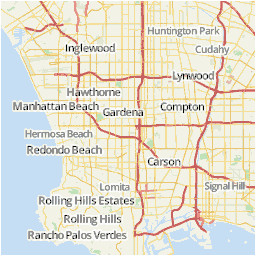 Paramount California Map Los Angeles area Map U S News Travel