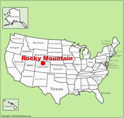 Rocky Mountains Colorado Map Rocky Mountain National Park Maps Usa Maps Of Rocky Mountain