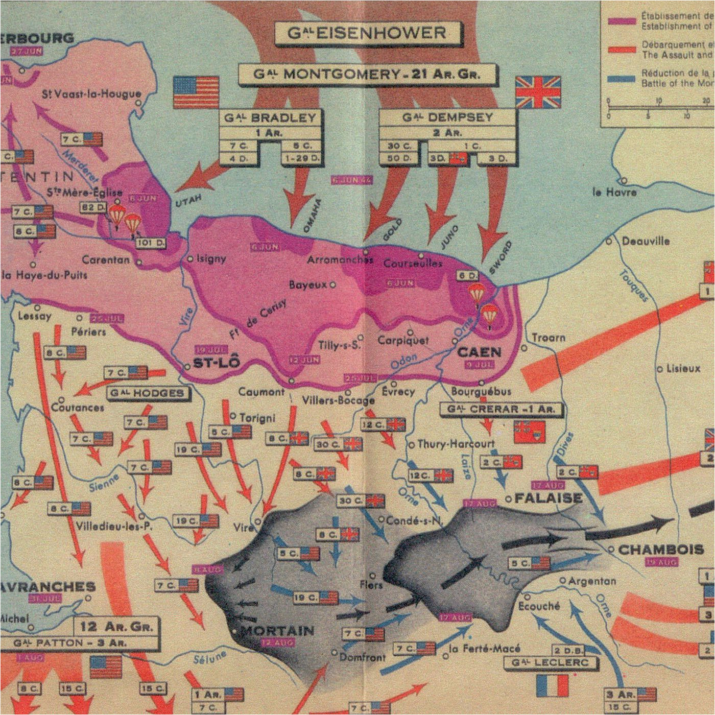 Sebring Ohio Map the Story Of D Day In Five Maps Vox