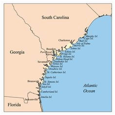 Tybee island Georgia Map 92 Best Georgia Beaches Images Destinations Trips Vacations