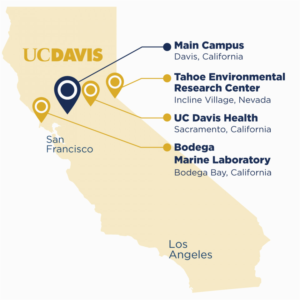 University Of California Davis Map About Uc Davis Uc Davis