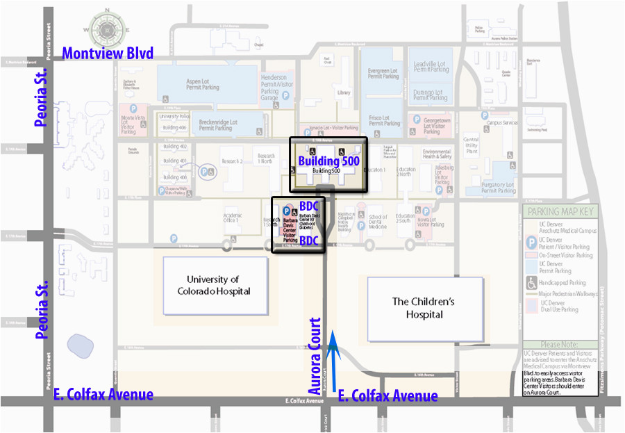 University Of Colorado Anschutz Medical Campus Map Barbaradaviscenter org