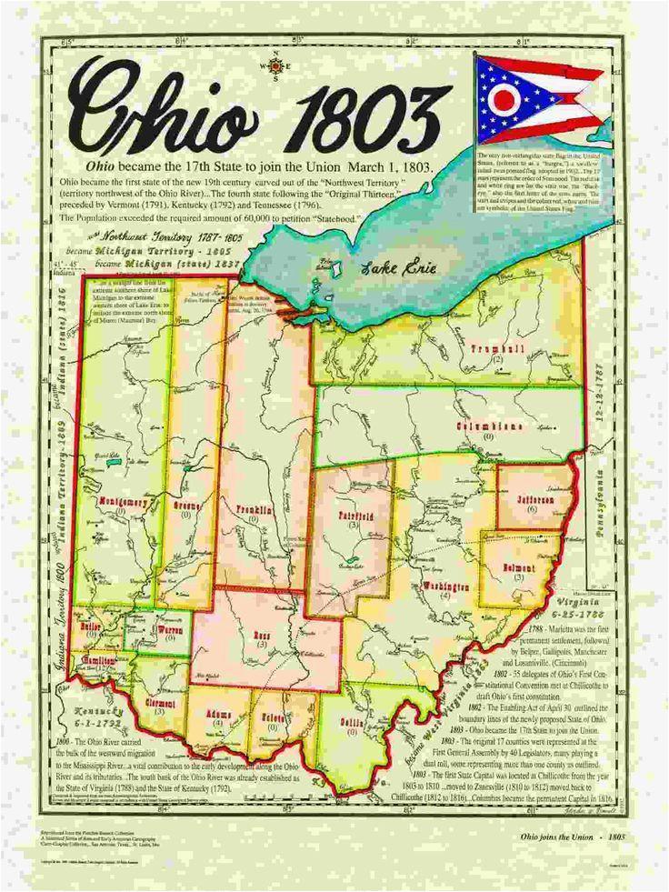 Buckeye Lake Ohio Map Ohio State History Map Genealogy Maps Pinterest Ohio