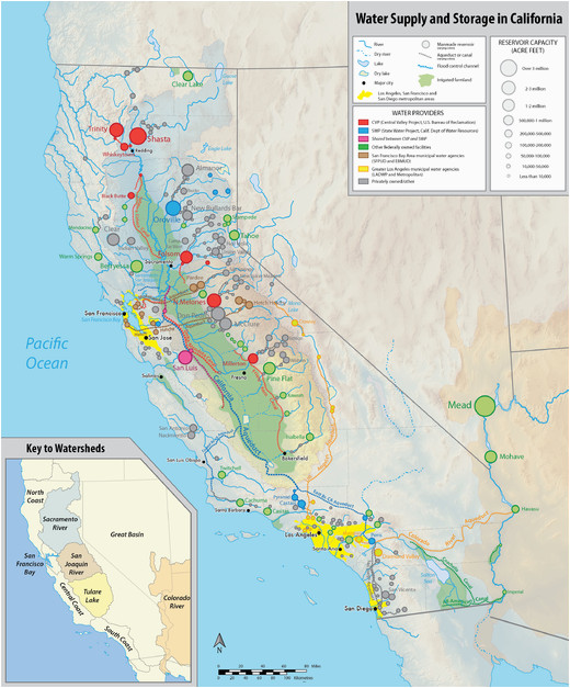 California State Water Project Map History Of California 1900 Present Wikipedia