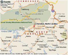 Cherokee north Carolina Map 16 Best Cherokee Nc Images Cherokee Indian Reservation Cherokee