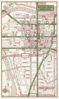 Dayton Ohio Street Map 44 Best original Maps Images Antique Maps Old Maps City Maps