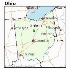 Galion Ohio Map 11 Best Hometown Reminders Images Columbus Ohio My town Ohio