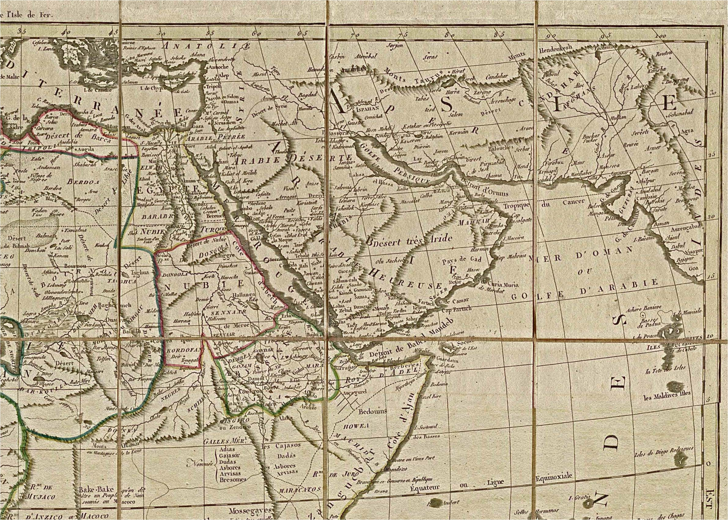 Georgia Historical Maps Africa Historical Maps Perry Castaa Eda Map Collection Ut Library