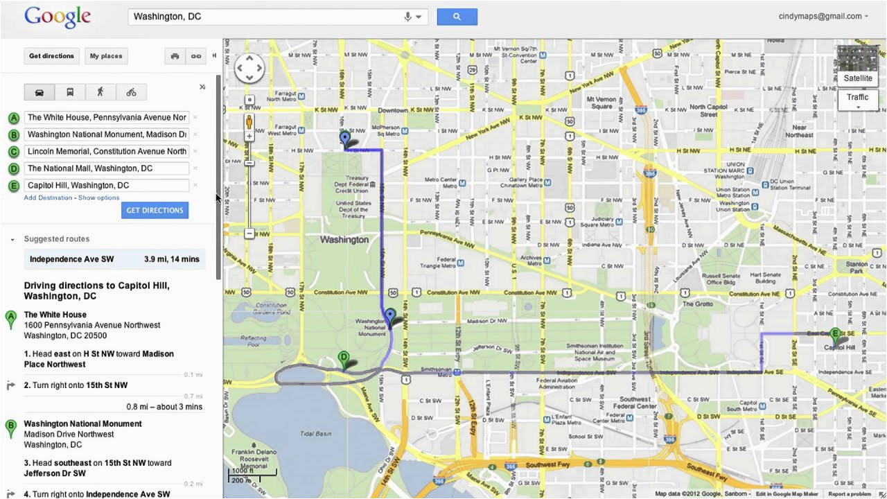 Google Maps Ohio State Saving Directions In Google Maps Youtube