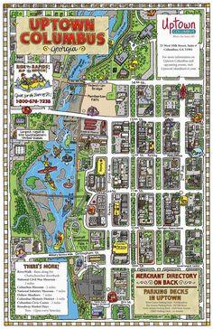 Map Of Columbus Georgia 1006 Best Columbus Georgia Images In 2019