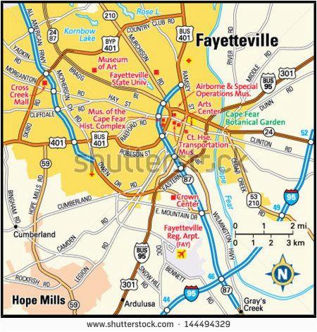 Map Of Fayetteville north Carolina Cumberland County Nc Map Lovely Fayetteville north Carolina Ny