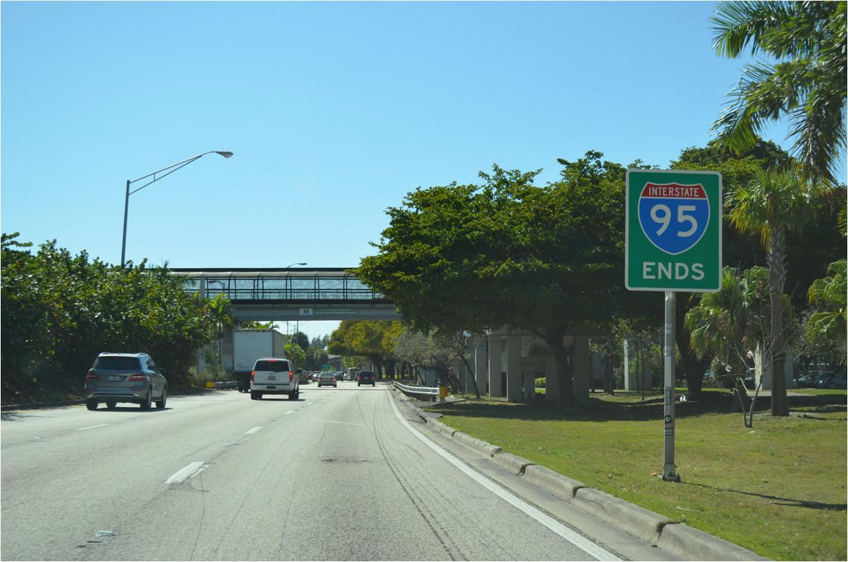 Map Of I 95 Exits In north Carolina Interstate Guide Interstate 95